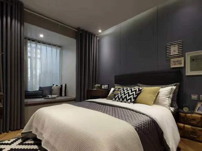 混搭风格-170平米三居室-装修样板间