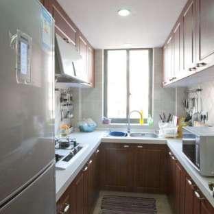 混搭风格三居室厨房装修效果图