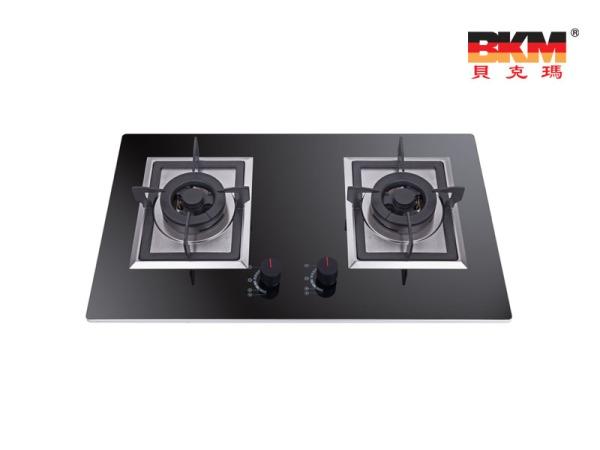 JZT-BKM-XB-30 贝克玛电器 厨房双眼天然气灶具