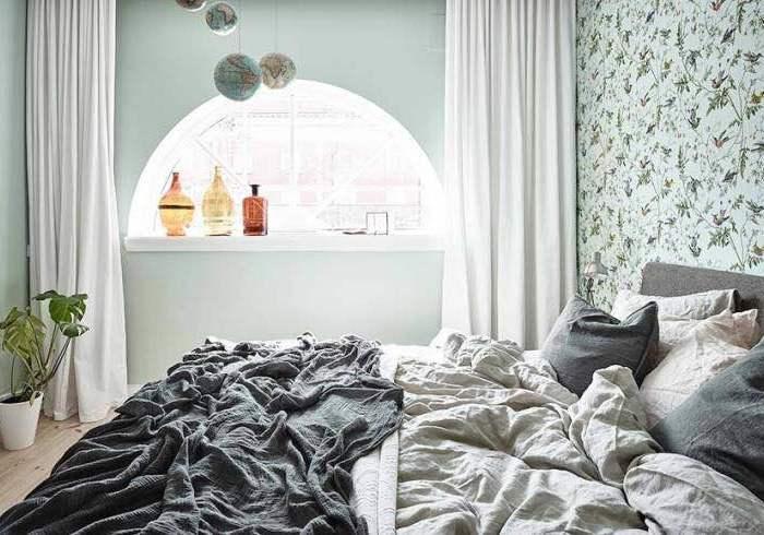 欧美风情-98平米二居室-装修样板间