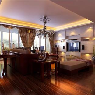 160平新中式风 品味时尚、古典、优雅居住空间