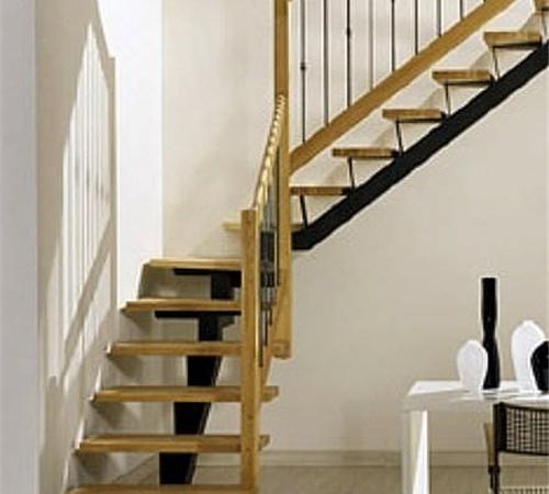 刚结构楼梯定制-百姓园楼梯