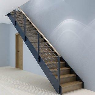 家用钢木楼梯定制百姓园楼梯