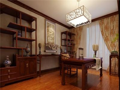 中式风格-158平米四居室装修样板间