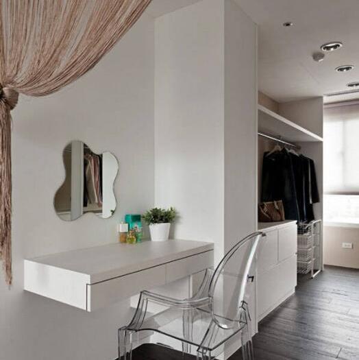 现代简约-75.07平米二居室-装修样板间