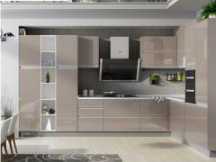 华尔兹石英石厨房厨柜组装厨柜