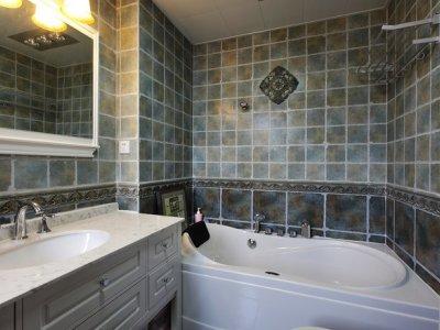 欧美风情-90平米三居室装修样板间