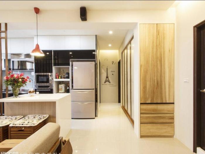 日韩风格-100平米三居室-装修样板间