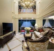 保利香槟国际260�O三室两厅两卫法式新古典风