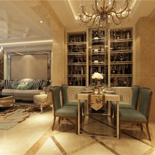 欧美风情五居室餐厅装修效果图