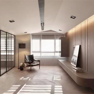 现代简约三居室客厅装修效果图
