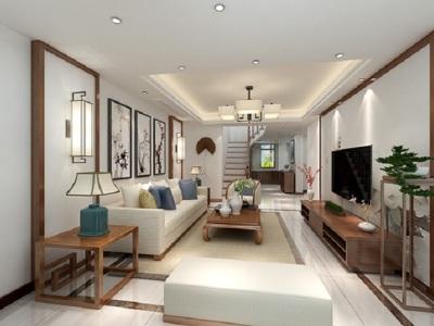 中式风格-171平米四居室装修样板间