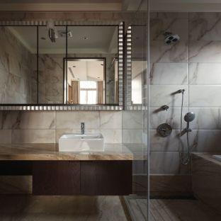北欧风格四居室卫生间装修效果图