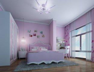 北欧风格四居室儿童房装修效果图