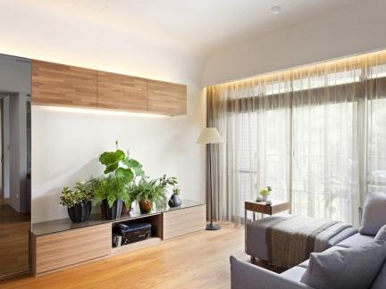 日式原木风 温润素雅的气质美屋
