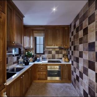 地中海风格四居室厨房装修效果图