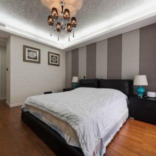 现代美式混搭三居室卧室装修效果图