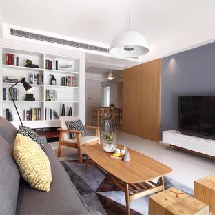 宜家风格三居室客厅装修效果图