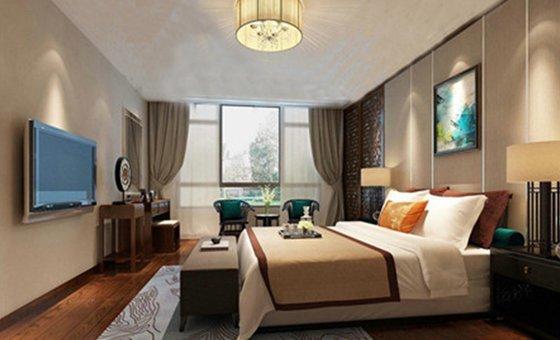 中式古典-134平米四居室-装修样板间