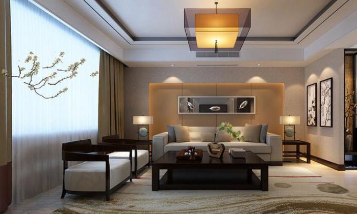 中式风格-130平米三居室-装修样板间
