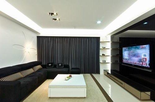 日韩风格-137平米四居室-装修样板间