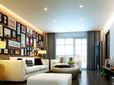 现代简约-122平米三居室装修样板间