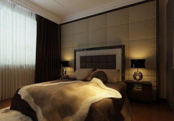 现代简约-122平米三居室-装修样板间
