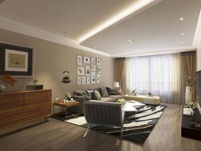 现代简约-160平米三居室装修设计