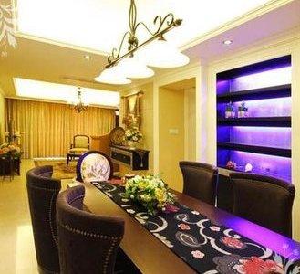 简欧风格-125平米三居室装修样板间