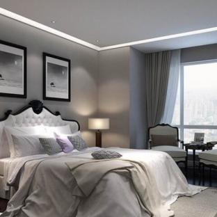 简欧风格三居室卧室装修效果图