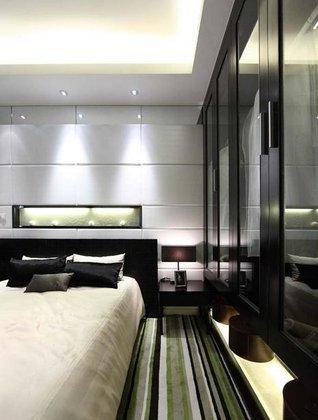 现代简约-138平米三居室-装修样板间