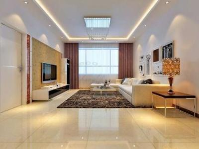 现代简约-138平米三居室装修样板间