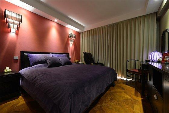 混搭风格-125平米三居室-装修样板间