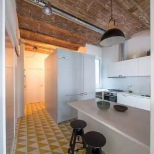 简美风格三居室厨房装修效果图