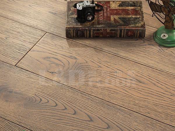 零点LS-X821 栎木 灰白色 实木地板