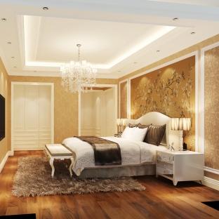 欧式四居室装修效果图