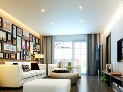 现代简约-95平米三居室装修样板间