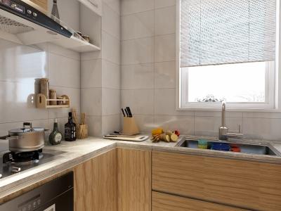 现代简约-117平米三居室装修样板间
