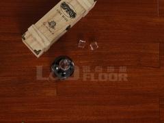零点LS-YPD601 圆盘豆 柚木色 实木地板