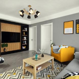 126平北欧风格案例 自然明亮的清新家居