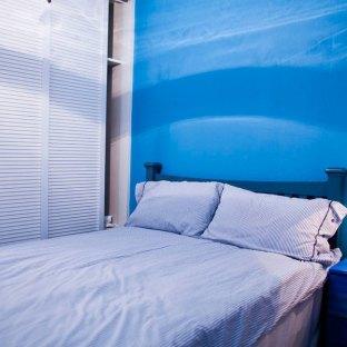 地中海风格四居室卧室装修效果图