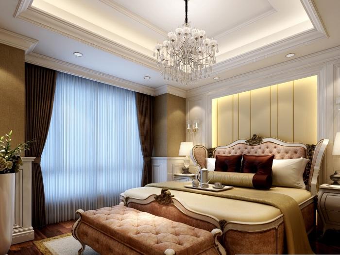 欧美风情-180平米五居室-装修样板间