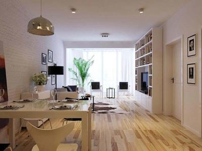 现代简约-45平米一居室整装装修样板间