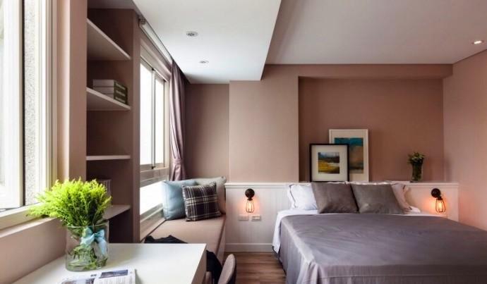现代简约-80平米二居室整装-装修设计