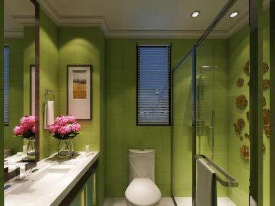 欧式风格-220平米四居室整装装修样板间
