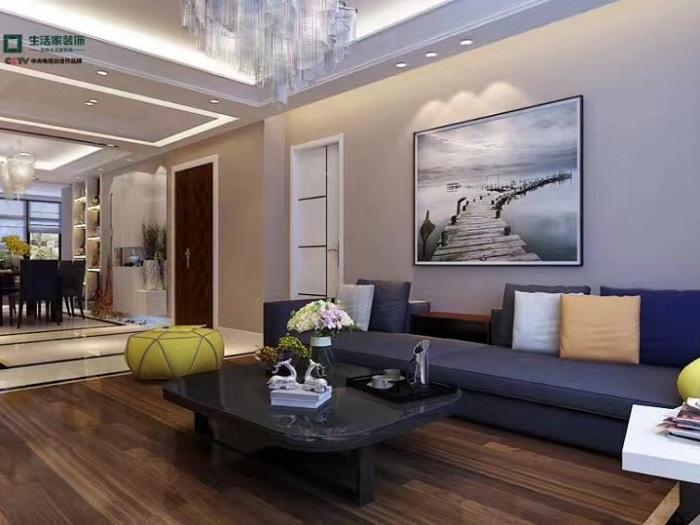 现代简约-160平米四居室整装-装修样板间