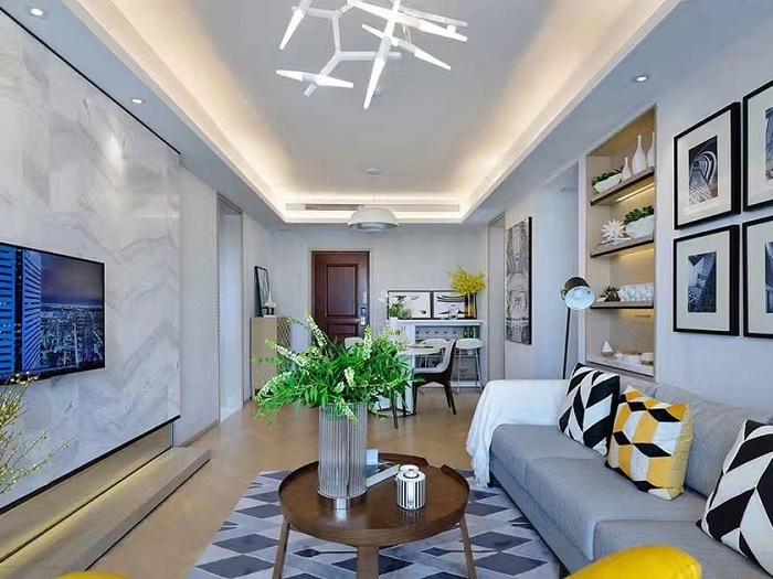 现代简约-140平米四居室整装-装修样板间