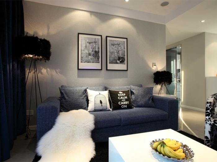 现代简约-161平米三居室整装-装修设计