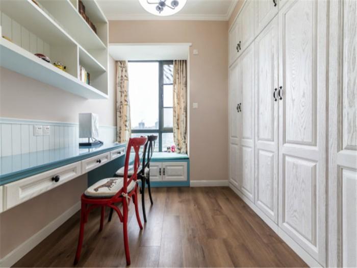 美式风格-183平米四居室整装-装修样板间