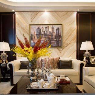 西式古典五居室装修效果图